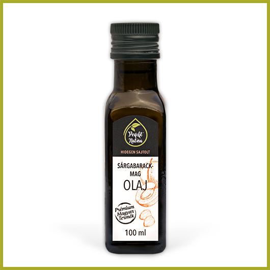Hidegen sajtolt Sárgabarackmag olaj – 100 ml
