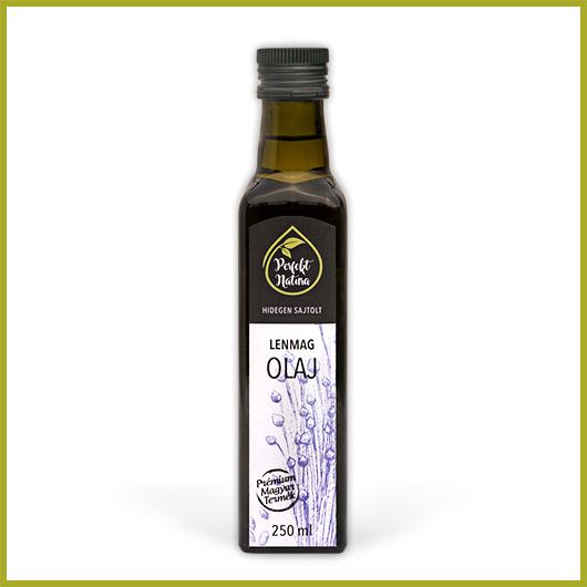 Hidegen sajtolt Lenmag olaj – 250 ml