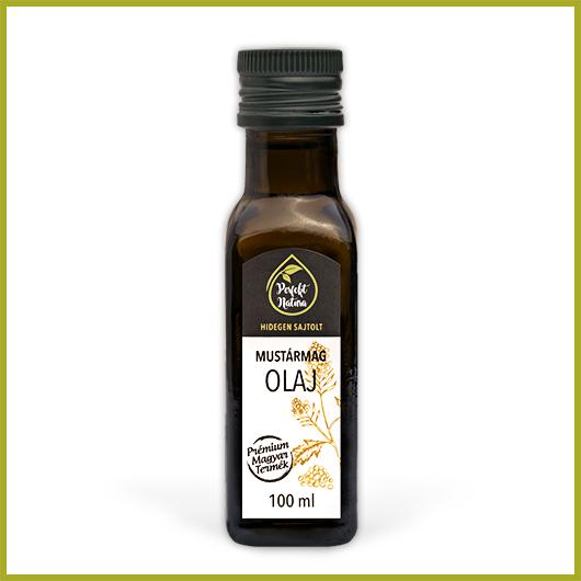 Hidegen sajtolt Mustármag olaj – 100 ml