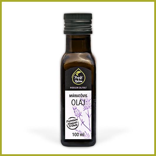 Hidegen sajtolt Máriatövis olaj – 100 ml