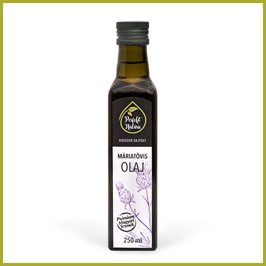 Hidegen sajtolt Máriatövis olaj – 250 ml