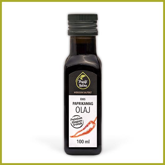 Hidegen sajtolt Édes paprikamag olaj – 100 ml