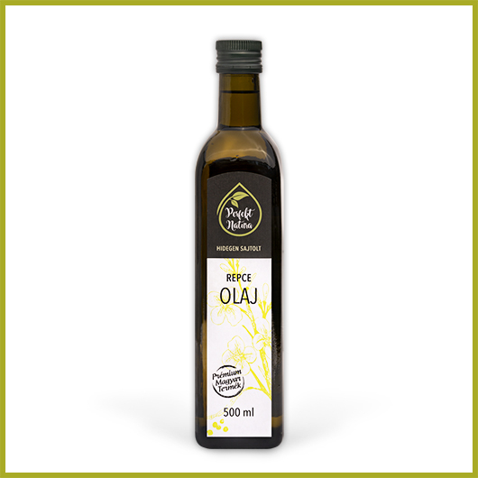 Hidegen sajtolt Repce olaj – 500 ml