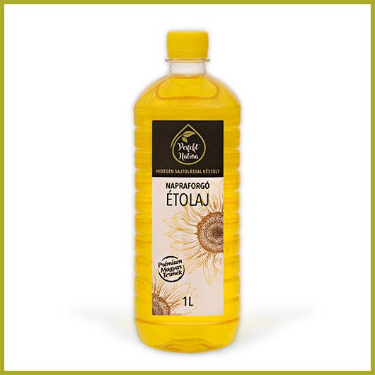 Hidegen sajtolt Napraforgó olaj – 1 liter